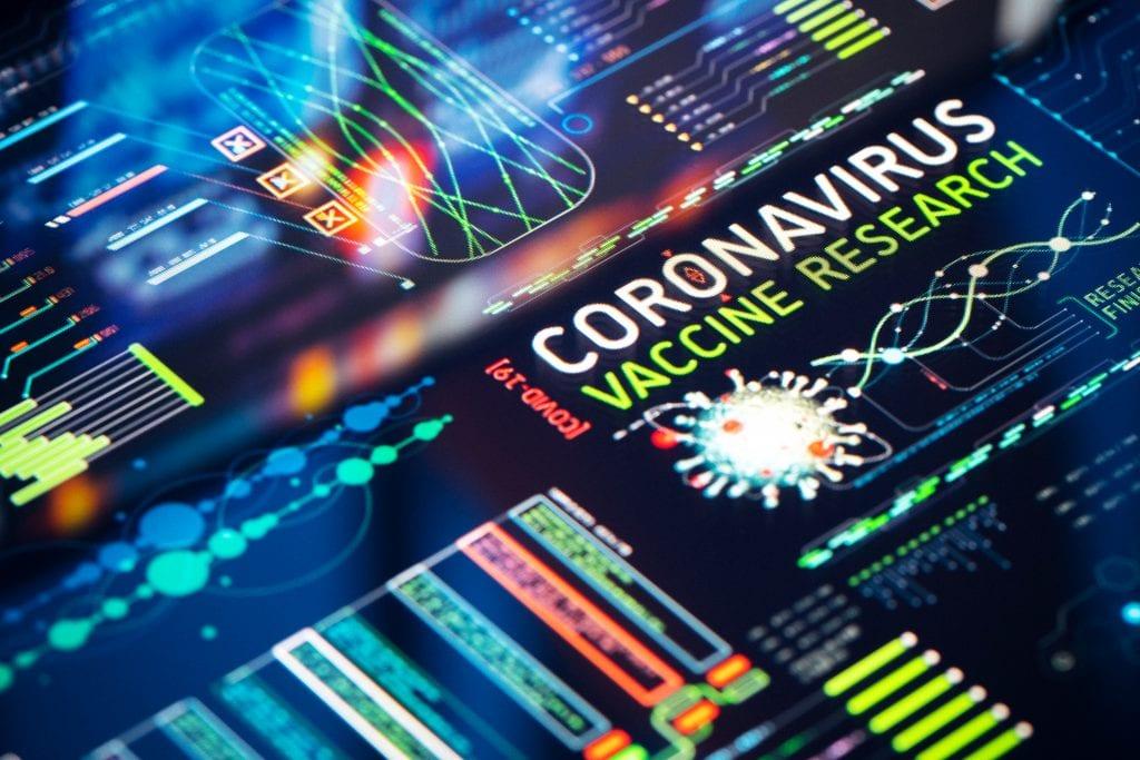 Coronavirus vaccine research on a computer model